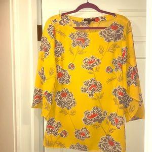 Banana Republic Large yellow blouse